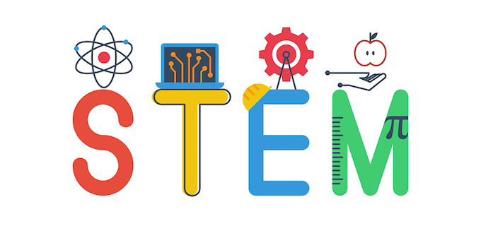 photo of the word STEM